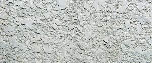 Spuitwerk in grijze kleur met relief